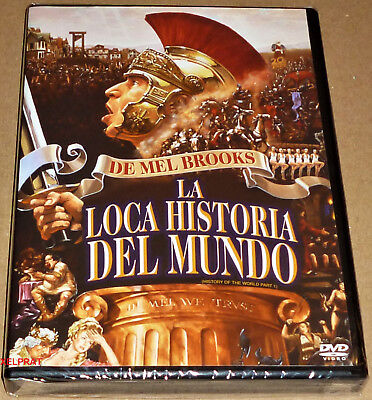 LA LOCA HISTORIA DEL MUNDO / HISTORY OF THE WORLD Mel Brooks - DVD R2 - Precinta
