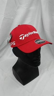 8f2d3ebdea1 New Taylormade Golf Core Custom Adjustable Hat Red M1   TP5 Stitched Logos