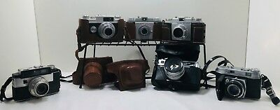 *LOT Vintage Kodak/Argus/Yashica Point Shoot Cameras