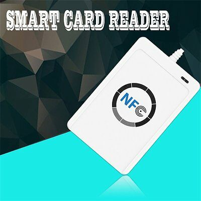 NFC ACR122U RFID Contactless Smart Reader & Writer/USB + 5X IC Card T8