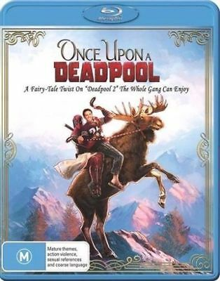 Once Upon A Deadpool Blu-ray BRAND NEW SEALED AUSTRALIAN Region 4