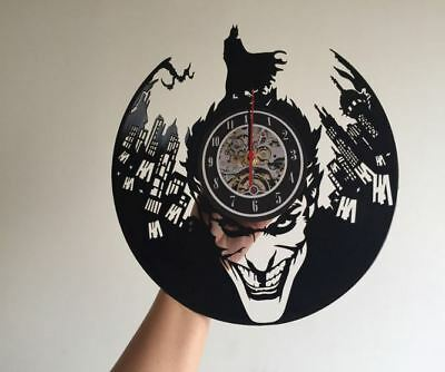 Vinyl Record Wall Clock batman dark knight darkknight bat man superhero