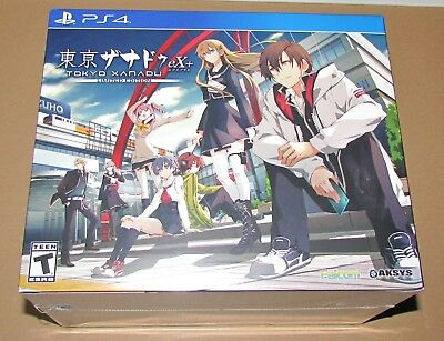 Tokyo Xanadu EX+: Limited Edition (Playstation 4) Brand New / Fast Shipping