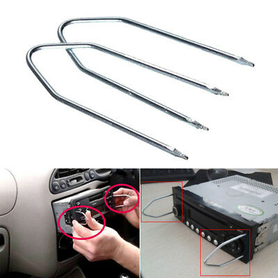 Extraction Tools Car Interior Radio Removal Tool Release Key Screwdriver