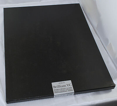 Zone VI 16x20 Brilliant VC Double Weight Glossy Paper 25 Sheets Sealed in Box