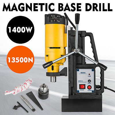 Magnetic Drill 240V Electric Commercial 350Rpm Electro-Mag Base Superior Quality