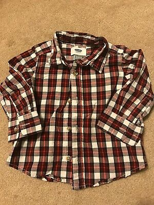 Old Navy Boys Size 18-24M Button Up Shirt