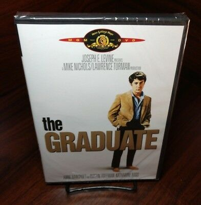 The Graduate (DVD,1969)NEW(Sealed)Free First Class Shipping with Tracking