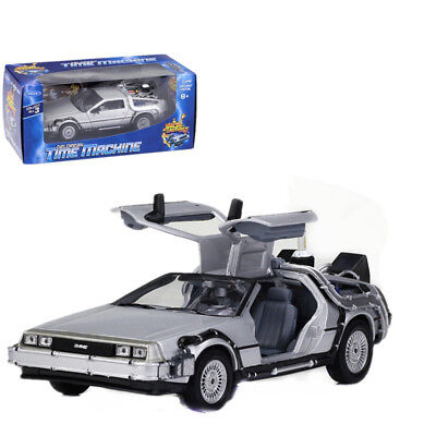 Welly 1:24 Back to the Future 2 Delorean Time Machine Diecast Model Car New