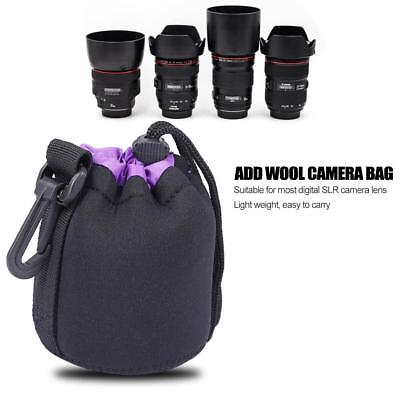 Waterproof Neoprene Lens Pouch Bag Protective Case Cover For Digital SLR Camera