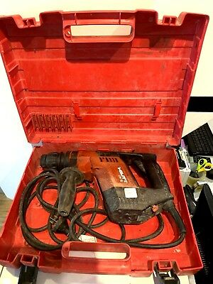 Hilti Te-5 500W 2.3A - Corded Rotary Hammer Drill In Case - Used But Cheap!