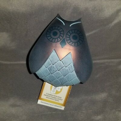 Yankee Candle Scent Plug In Base Cute Brown Blue Owl