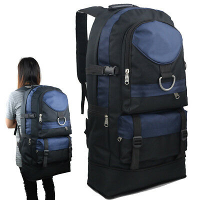 60L Travel Backpack Sports Rucksack Satchel Hiking Bag Mountaineering Waterproof