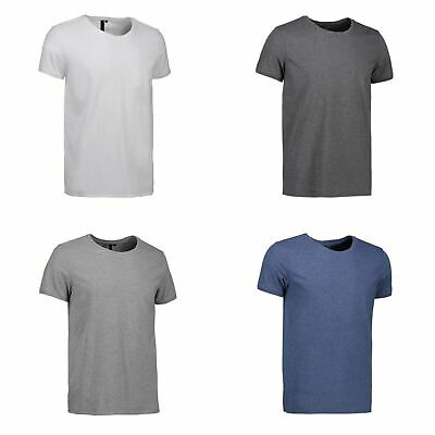ID Mens Fitted Round Neck Casual T-Shirt (ID414)