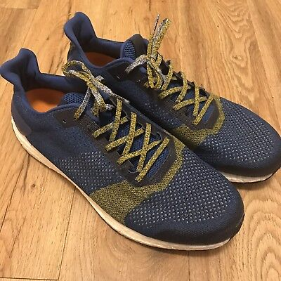 4d5de7785657c Adidas Ultra Boost St Af6516 Mens Size 15 Blue Running Shoe No Box As Is  Uncaged