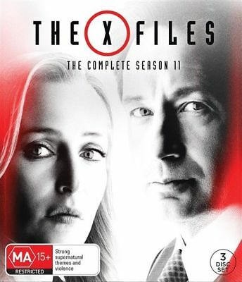 The X-Files : Season 11 (DVD, 2018, 3-Disc Set), NEW SEALED AUSTRALIAN