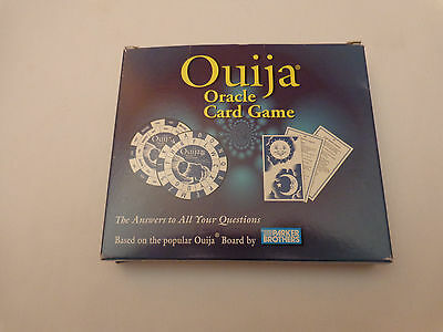 Ouija Oracle Card Game 1998 Parker Brothers (Ouija Board) Occult Rare Htf