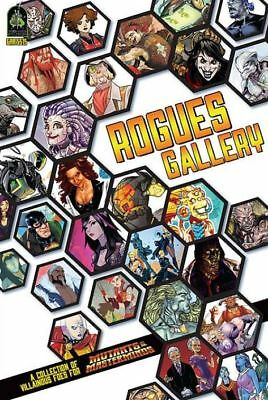 Mutants e Masterminds Rpg - Rogues Gallery Sourcebook