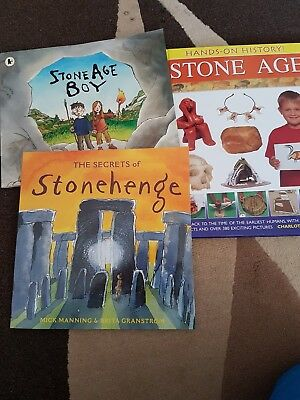 3 Books About The Stone Age