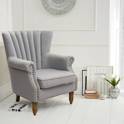 OCCASIONAL WING BACK Accent Armchair Living Dining Bedroom ...