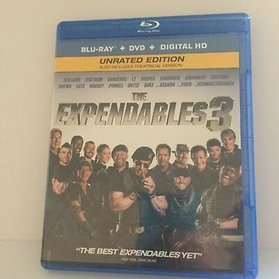 Expendables 3 with Stallone Blu-Ray Only (No DVD, Digital Download Included)