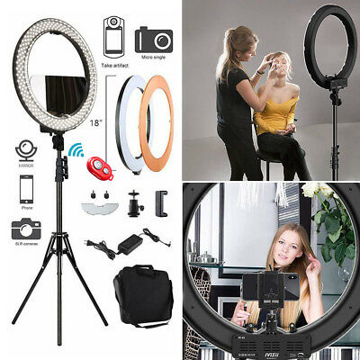 """12"""" 240Pcs LED Ring Light Dimmable 6200K for SmartPhone/Camera with Light Stand"""