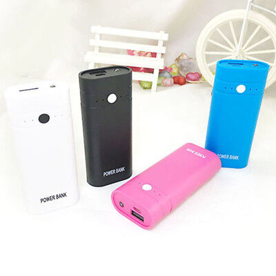 2A Output Real Quick Charge 2X 18650 USB Power Bank Case DIY Box NO Battery IU