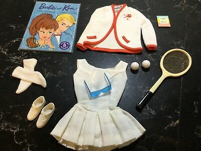 VINTAGE Barbie Outfit Original #941 Tennis Anyone (1962-1964) Complete