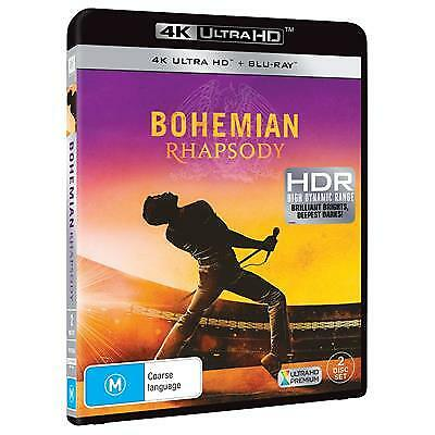 Bohemian Rhapsody (4K Ultra HD/ Blu-Ray, 2019) (Region B) New Release