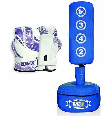 *Onex Kids//junior Freestanding Punch Bag Set Powercore Martial Art MMA Fitness**