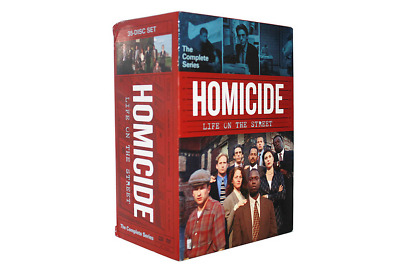 Homicide Life On The Street The Complete Series( DVD, 35-Disc) Box Set