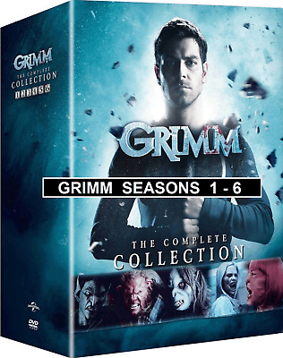 GRIMM the Complete Series Collection DVD Seasons 1-6