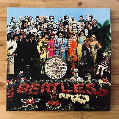 "The Beatles Sgt. Pepper's Lonely Hearts Club Band 12"" Vinyl LP 2017 Reissue"