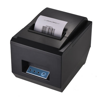 80mm Thermal Receipt Printer High Speed ESC/POS Command Auto Cutter USB S5P3