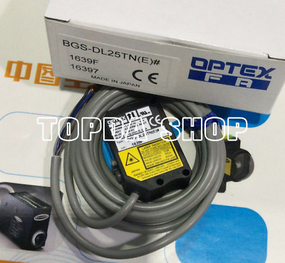 Optex BGS-DL10TCN CMOS Back Ground Suppression Laser 40 to 100 MFGD E