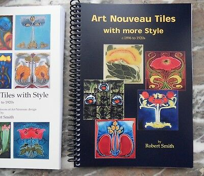 Art Nouveau Tiles with more Style c1896 to 1920s A4 vol 2. Great Christmas Gift