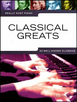 Classical Greats Really Easy Piano Music Book