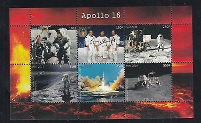 10x Space Apollo 16 Lunar Rover perf - Private Local issue Wholesale / not MNH