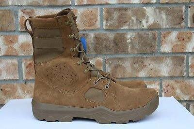 a987285c MEN'S UNDER ARMOUR UA FNP Military Tactical Boots Suede Sage Brown 1287352  728