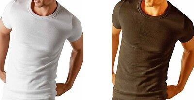 Absolute Apparel Mens Slim Fit Short Sleeve Adult Thermal Tshirt