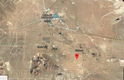 2.5 Acres X 4 lots ( total 10 acres) close to Edward Air Base Mojave, California