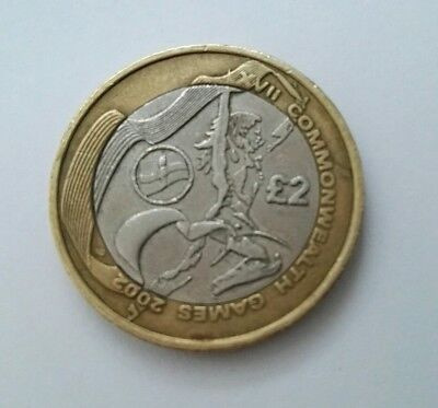 £2 Two Pound Coin Northern Ireland Commonwealth Games (Circulated)