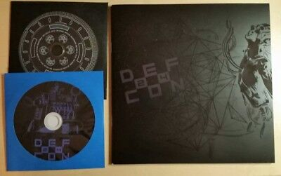 DEF CON 24 (2016) Registration CDs and booklet.