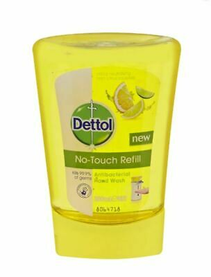 Dettol No Touch Anti Bacterial Handwash Refill Grapefruit 250ml -Choose Quantity