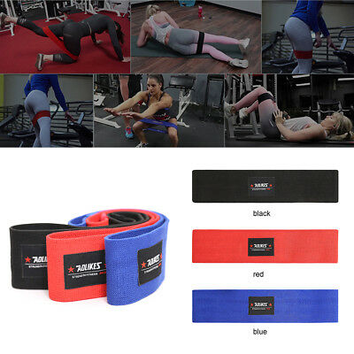 UK Hot HIP CIRCLE Glute Resistance Band Hip Rotation Exercise Fitness Band Grip