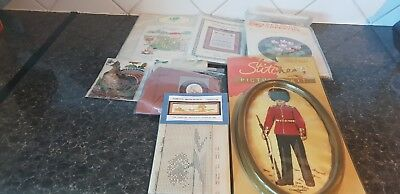 Collection of unused 'Cross Stitch' Kits x 6 - vintage/Rare - see pictures