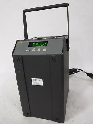 Used Nice Fluke Hart Scientific 7102 Micro Bath, -5 C to +125 C 3D