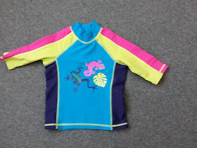 Immaculate Mothercare 18 - 24 Month Baby Sun Safe Protection Swim Top