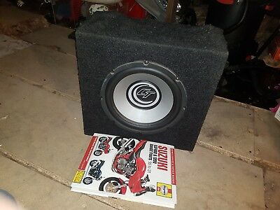 Ct Gt car audio subwoofer and box sub