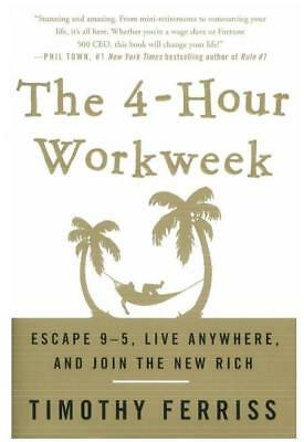 The 4-Hour Work Week Escape 9-5 the New Rich by Timothy Ferris [PDF]